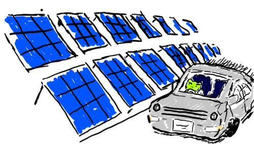 太陽光発電所勤務は車移動必須?